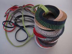 Handmade ribbon jewellery