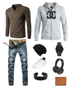 """""""Casual Wednesday"""" by adgn on Polyvore featuring Original Penguin, DC Shoes, Michael Kors, Barefoot Dreams, Terracomo, The House of Marley, NOVICA, men's fashion and menswear"""