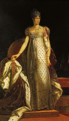 ca. 1811 Marie Louise, segunda esposa de Napoleão Bonaparte, by François Pascal Simon Gérard (Kunsthistorisches Museum, Vienna)