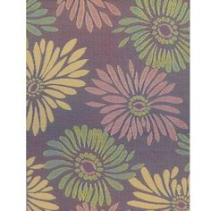 Mad Mats Daisy rug in Violet- Made from recycled polypropylene!