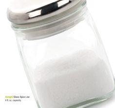Airtight Glass Spice Jar
