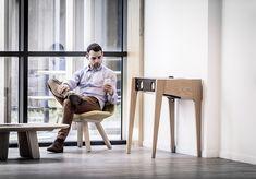 La Boite Concept Speaker Furniture | The Coolector Tech Gadgets, Bar Stools, Desk, Concept, Furniture, Console, Bluetooth, David, Range