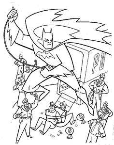 superheroes colouring pages coloring pages pinterest