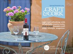 Wine lovers have been discovering the joys of making their own craft wine with RJS Craft Winemaking since Today, we make over 120 award-winning. Summer 2014, Wines, Table Decorations, Fruit, Spring, Creative, Crafts, Cork, Inspiration