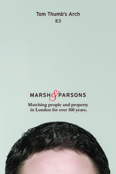 Creative marketing campaign, 'Matching people and property' – Award-winning advertising from London estate agents, Marsh and Parsons. London People, London Property, Made In Chelsea, Brand Campaign, London Places, Street Names, Estate Agents, New Image, Advertising