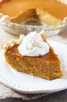 Make a classic pumpkin pie that will be the hit of the family dessert table this holiday season. Scrumptious traditional dessert idea!