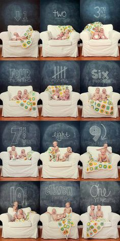 Great way to document the first year of your child's life!