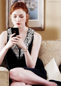 Karen Gillan in 'The List'