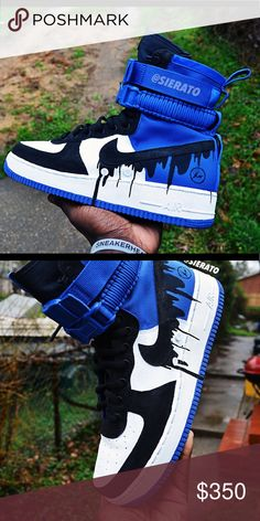 pick up 0b598 78e49 Custom Fragment Nike SF-AF1 Custom Fragment Nike SF-AF1 Nike Shoes Sneakers  Shoes