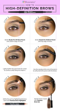 Learn how to achieve high definition brows in minutes! Head over to our blog, www.bhcosmetics.com/blog, for more!