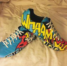 Wiggo Paul Weller / Roy Lichtenstein Whaam shoes