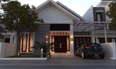 Permalink to √ Prospek Rumah Minimalis Tahun Anda Wajib Tahu! Modern Home Design, Modern Homes, Modern Apartments, Bungalow House Design, House Front Design, Dream House Plans, Modern House Plans, Minimalis House Design, One Storey House