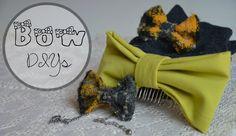 Fabric Bow DIYs || hair bow, bow bracelet, high socks, decoration, key chain etc   #DIY #Bow