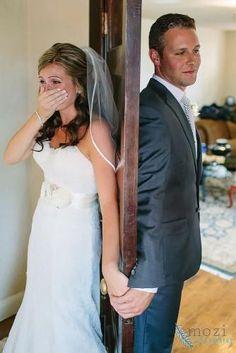 Touching First Look Wedding Photos ★ wedding photos 29
