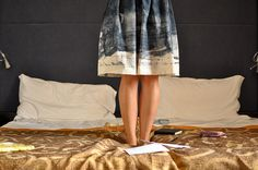 Simplicity 2215 Skirt : Nani Iro.