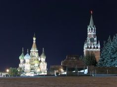 Red Square at night, Moscow, Russia #travel #photos #russia