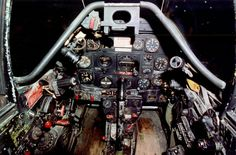 Detailed cockpit image of the North American Mustang Single-Seat, Single-Engine Fighter / Fighter-Bomber Aircraft South African Air Force, P51 Mustang, Fighter Aircraft, Scale Models, Planes, American, Pictures, Military, Pilots