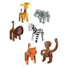 Inflatable+Zoo+Animal+Assortment+-+OrientalTrading.com - Good Night Moon