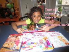 Omg!!! Thank you for the Gifts American Girl!!! - YouTube