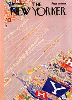 Style - Harvard and Yale Rowing - 1931 The New Yorker