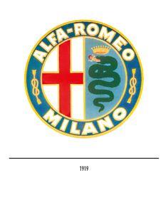 Marchio Alfa Romeo del 1919