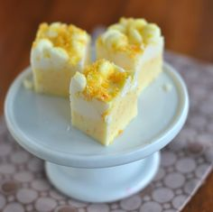 Orange Julius Fudge: From Drink to Dessert. I am so excited to try this fudge. So excited!