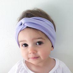 KRZA by Krystle Dawn Kids turban in Lilac