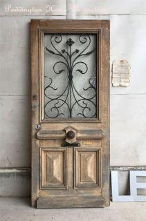 ショッピングカート - フレンチアンティーク家具ロココ調ブロカントのお店【パディントン】 Vintage Doors, Antique Doors, Modern Exterior, Exterior Design, Iron Front Door, Antique Farmhouse, Farmhouse Door, Wrought Iron Doors, Iron Work