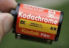 Kodachrome carretes de para camaras fotográficas. otra cosa que ya no se ve.