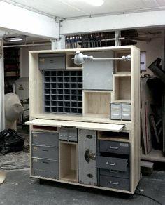 rolling workbench/storage