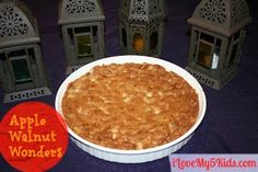 Apple Walnut Wonders - It just smells like Fall. Super easy recipe! YUM!  iLoveMy5Kids.com