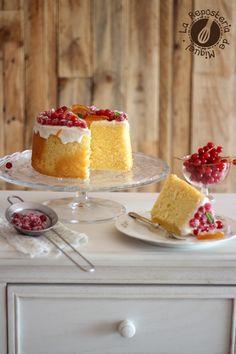Grosellas & Naranja, Angel Food Cake