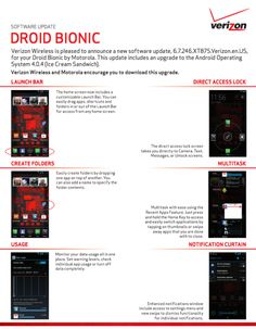 Droid Bionic Update approved by Verizon