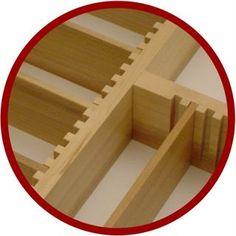 Orderly Drawer Organizers - Custom Wood Drawer Organizer Insert