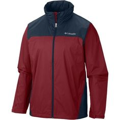 Columbia Sportswear Men's Glennaker Lake Big & Tall Rain Jacket (Red, Size ) - Men's Outerwear, Men's Rainwear at Academy Sports