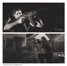 Rick Grimes - Daryl Dixon - TWD