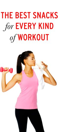 The perfect snack for every kind of workout