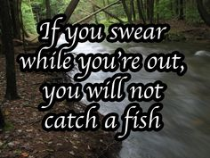 Or this note for all you pottymouths: | 10 Fishing Superstitions That Double As Dating Advice