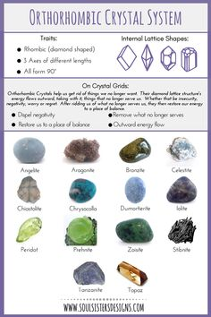 Healing Crystals Part 7: Crystal Grids and Orthorhombic Crystal | Soul Sisters Designs | Healing Crystal Jewelry and Home Decor