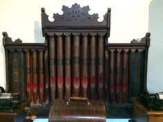 """Architectural Remnant From 1800 Pump Organ   29"""" High x 48"""" Wide x 9"""" Deep   $275  Deler #021  Lost. . .Antiques 1201 N. Riverfront Blvd. Dallas, TX 75207  Monday - Saturday: 10am - 5pm Sunday 11am - 5pm  Read more: http://dallas.ebayclassifieds.com/antiques/dallas/architectural-remnant-from-1800-pump-organ/?ad=40663570#ixzz3iFP1Tali"""