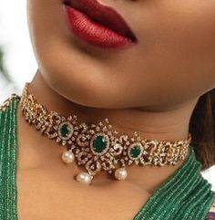 Necklaces – Page 7 – Finest Jewelry Diamond Earrings Indian, Diamond Necklace Set, Diamond Choker, Gold Choker, Diamond Jewelry, Diamond Pendant, Jewelry Design Earrings, Gold Earrings Designs, Necklace Designs