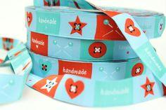 Webband Love Handmade - 19mm breit
