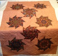 Donna's stack n whack quilt