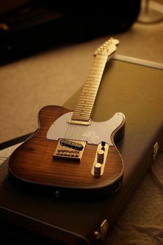 Fender Telecaster - Just a beautiful all American guitar. Unfortunately, the Squier range is more akin to my budget.