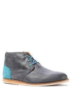 J Shoes Men's The Realm Boot in Greystone & Blue, Boots $172.00