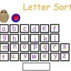 Letter Sort (Promethean flipchart) to accompany the Wilson Fundations program!