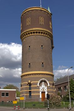 Tower House, Tank I, Water Tower, Futuristic Architecture, Cabin Homes, Water Tank, Belgium, Netherlands, Building A House