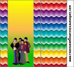 Imprimibles Submarino Amarillo (Beatles) 6.