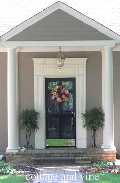 cottage and vine: The Portico