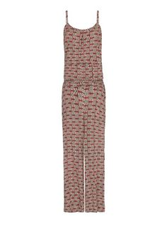 MANGO - Printed long jumpsuit